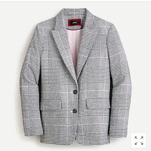 J.Crew Oversized Boyfriend Blazer Wool-blend